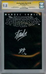 Amazing Spider-man Volume 2 #36 CGC 9.8 Signature Series Signed Stan Lee & Romita Jr 911 WTC Marvel